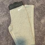 Nike Pants & Jumpsuits   Nike Pro Fleece Lined Tights   Color: Gray   Size: Xs