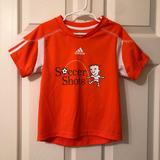 Adidas Shirts & Tops | Adidas Youth Soccer Shirt In A Size Small | Color: Orange | Size: Small Child