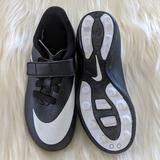 Nike Shoes | Nike Black And White Soccer Cleats For Kids | Color: Black/White | Size: Kids 10