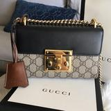 Gucci Bags | Gucci Padlock Small Gg Shoulder Bag | Color: Black/Brown | Size: Os