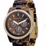 Michael Kors Jewelry   Michael Kors Tortoise Watch   Color: Brown/Tan   Size: Os