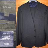 J. Crew Suits & Blazers   $650 J Crew Ludlow Charcoal 40s 36x29   Color: Gray   Size: 40s