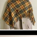 Burberry Accessories | Authentice Burberry Scarf | Color: Tan | Size: Os