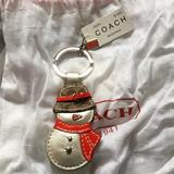 Coach Accessories | Coach Snowman Keychain (Collector) | Color: Silver | Size: Os
