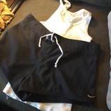 Nike Swim   Nike Swim Trunks Medium Get Free Tank.   Color: Black/White   Size: M