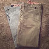 J. Crew Pants & Jumpsuits   2 Pairs J Crew City Fit Chinos   Color: Gray/Tan   Size: 6