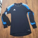 Adidas Shirts | Adidas Soccer Goalie Shirt Elbow Padspockets | Color: Blue/White | Size: S