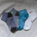 Nike Other   (4) Pairs Women'S Nike Dri-Fit Low Cushion Socks.   Color: Blue/Gray   Size: Md