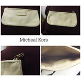 Michael Kors Accessories | Micheal Kors Accessory Bag | Color: Cream | Size: Os