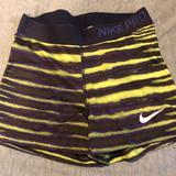Nike Shorts | Nike Spandex | Color: Green/Purple | Size: S