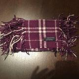 Burberry Accessories | Authentic Burberry Plum Happy Scarf | Color: Red | Size: Os