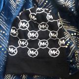 Michael Kors Other | Michael Kors Winter Hat | Color: Black/White | Size: Os