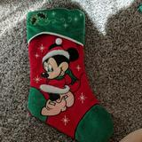 Disney Other   Minnie Mouse Stocking   Color: Green/Red   Size: Os