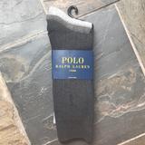 Polo By Ralph Lauren Underwear & Socks | 3 New Mens Ralph Lauren Polo Dress Sox Size 9-12 | Color: Black/Gray | Size: 9-12