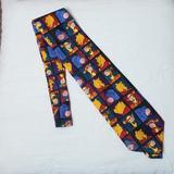 Disney Accessories   Disney Pooh Tie. Orange Black Red Blue   Color: Black/Orange   Size: Os