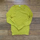 J. Crew Sweaters   3 For $30 - Chartreuse Neck Zip Pullover Sweater   Color: Green/Yellow   Size: Xs
