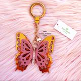 Kate Spade Accessories   Kate Spade Butterfly Keychain   Color: Red   Size: Os