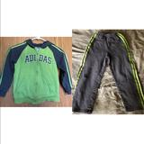 Adidas Matching Sets   Adidas Match Set Jacket & Pants Kids Sz 6   Color: Green   Size: 6b