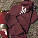 Under Armour Underwear & Socks   2 Pr Men'S Size L Soccer Socks   Color: Purple   Size: L