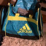 Adidas Bags   Adidas Duffle Bag   Color: Blue/Yellow   Size: Os