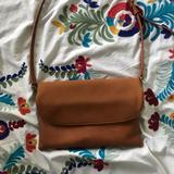 Anthropologie Bags   Anthropologie Vegan Leather And Suede Handbag   Color: Brown   Size: Os