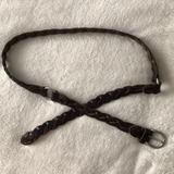 American Eagle Outfitters Accessories | American Eagle, Braided Belt | Color: Brown | Size: Os