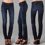 Anthropologie Jeans | Citizens Of Humanity Ava Rise Straight Leg Jean | Color: Blue | Size: 27
