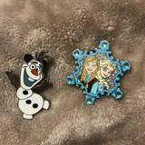 Disney Accessories | Disney Frozen Pins | Color: Silver | Size: Os