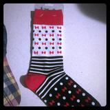 Disney Other   Disney Parks Nwt Socks   Color: Red/White   Size: Os