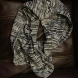 Pink Victoria's Secret Other | Infinity Scarf | Color: Black/Gray | Size: Os