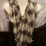 American Eagle Outfitters Accessories | Bundke Of 3 Infinity Scarfs | Color: Black/Silver | Size: Os