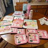 Disney Accessories | 1st Birthday Supplies | Color: Pink | Size: Party Supplies 1st Birthday