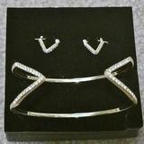 Victoria's Secret Jewelry   Last Chance - Vs Earring & Bracelet Set   Color: Gold   Size: Os