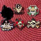 Disney Other | Disney Pirate Pin Bundle | Color: Black/Brown | Size: Os