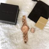 Michael Kors Jewelry | Michael Kors Rose Gold Ring And Watch Set. | Color: Gold | Size: Os