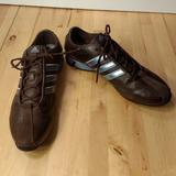 Adidas Shoes | Adidas Women'S Leather Running Shoes Size 10 | Color: Blue/Brown | Size: 10