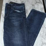 American Eagle Outfitters Jeans   Ae Slim Straight Jeans (Men'S)   Color: Blue   Size: 32