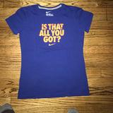 Nike Tops | Nike Shirt For Woman Size Medium | Color: Red | Size: M