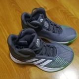 Adidas Shoes | Adidas Basketball Tennis Shoes | Color: Gray/Green | Size: 11b