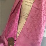 Gucci Other | Brand New Pink Gucci Scarf | Color: Pink | Size: Os