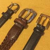 Nine West Accessories | (3)Belts | Color: Black/Brown | Size: Os
