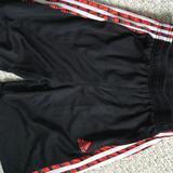 Adidas Bottoms   Adidas Boys Side Strip Shorts M   Color: Black   Size: Mb