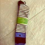 Kate Spade Other | Blue And Green Socks | Color: Blue/Green | Size: Os