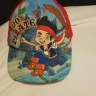 Disney Other   Jake The Pirate Red Hat   Color: Red   Size: Boys 3-5 Years Old