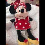 Disney Other | Minnie Mouse | Color: Red/White | Size: Osbb