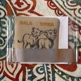 Disney Accessories   New-Lion King Patch (Free Whakuna Matata Tee)   Color: Black/Tan   Size: Os