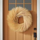 Triticum Wheat Wreath - Ballard Designs