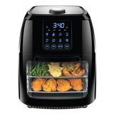 Chefman 5.96 Liter Healthy Digital Air Fryer Plastic in Black, Size 14.75 H x 11.0 W x 10.5 D in   Wayfair RJ38-6-RDO