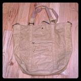 American Eagle Outfitters Bags   American Eagle Tan Vegan Leather Shoulder Bag.   Color: Tan   Size: Os