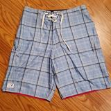 American Eagle Outfitters Swim   American Eagle Nwt Men'S Bathing Suit Size 30   Color: Blue/White   Size: 30